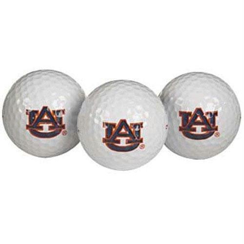 (Team Effort Auburn Tigers Golf Ball 3 Pack)