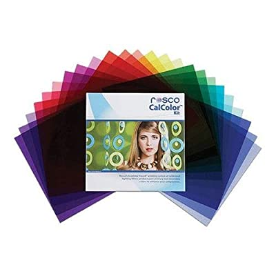 """Rosco CalColor Flash Pack, 1.5 x 5.5"""" Sheets by Rosco"""