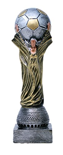 Decade Awards ⚽ Soccer World Cup Trophy ⚽ Futbol Globe Award | 13 Inch Tall - Customize Now