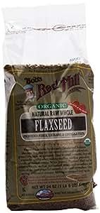 Bob's Red Mill Organic Brown Flaxseed, Raw, 24 oz