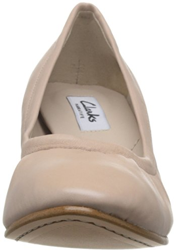 Clarks Grace Isabella, Zapatos de Tacón para Mujer Rosa (Nude Pink Lea)