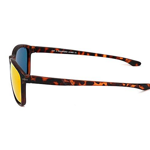 Sol Deportivas Hombre de Libre Azul para Pesca Sol de Gafas Red Gafas Color Aire Gafas Montar polarizadas al de LBY qaEw8tq
