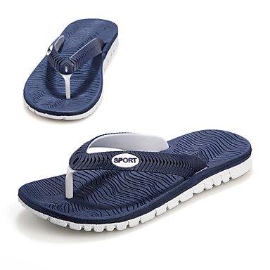 Zapatos de hombre casual zapatillas sintético negro/azul/blanco/gris Gris