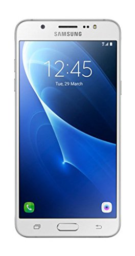 Samsung Galaxy J7 LTE 2016 J710M/DS 16GB, 5.5-Inch Dual SIM Factory Unlocked Phone - International Version (White) by Samsung