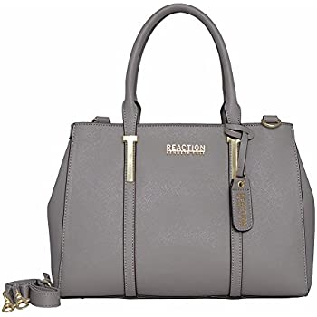Kenneth Cole REACTION KN1860 Triple Entry Harriet Satchel Handbag (Stony  Brook) 415cd2f9c2b91