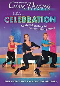 Tigers Video Chair - Chair Dancing Fitness: Life's A Celebration [HD DVD]