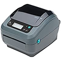 Zebra GX420t Direct Thermal/Thermal Transfer Printer - Monochrome - Desktop - Label Print - 4.09 Print Width - 6 in/s Mono - 203 dpi - 8 MB - Wireless LAN - USB - Serial - (Certified Refurbished)