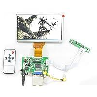 HDMI VGA 2AV Remote LCD Controller Board + 6.5 AT065TN14 50Pins 800x480 Screen for Raspberry Pi 3 2 Model B Rpi B+ B A SC7I