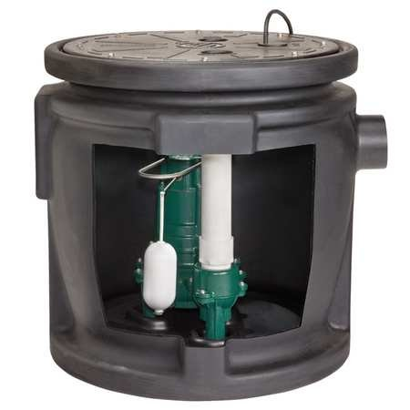 Zoeller M266 Sewage System with Alarm
