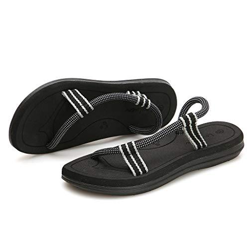 Confortable La De Sandales Mode Femmes Des Chaussures Antislip États Mode Et De La Noir De Européenne À Plage Unis Décontractées Paire La Hommes Personnalité Sanfashion HqFvwx1f