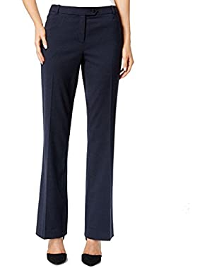 Calvin Klein Navy Women's Petite Straight Dress Pants Blue 8P!