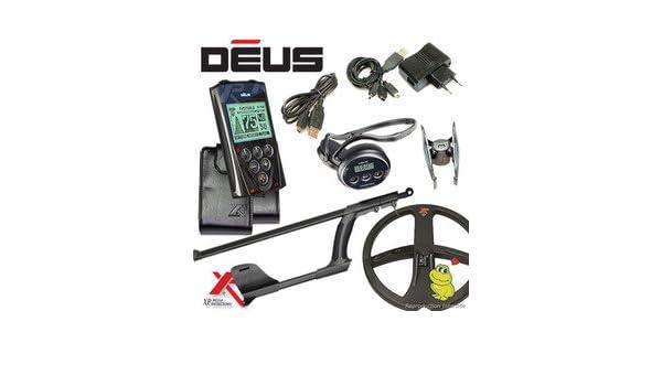 Metal Detectors Xp-Detector De metales Deus Full 5-Tecnología inalámbrica con mando a distancia-Auriculares Ws4 Disco-Dd 34 x 28 Cm, incluye protector para ...