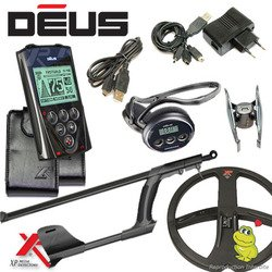 Metal Detectors Xp-Detector De metales Deus Full 5-Tecnología inalámbrica con mando a