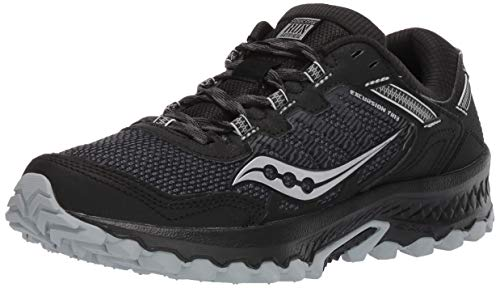 Saucony Men's VERSAFOAM Excursion TR13 Road Running Shoe, Black, 10 M US
