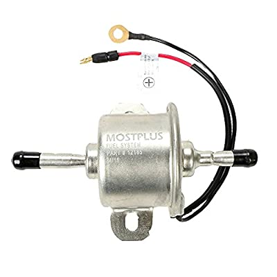 MOSTPLUS Fuel Pump Fits Kawasaki and Small Engine Mower ATV Generator: Automotive