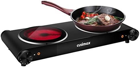 CUSIMAX 1800W Ceramic Hot Plate, Portabl