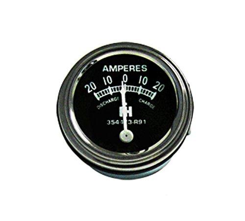 - RTP IH / Farmall Tractor Amp Gauge 20-20 Style with IH Logo