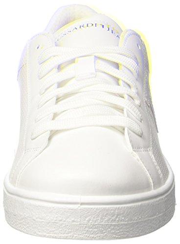 Jeans Blanc Trussardi White 01 77s57153 Basses Homme qppw1Cd
