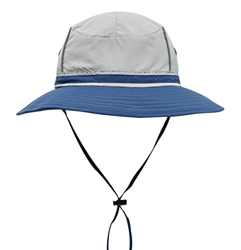 Connectyle Outdoor Boonie Fishing Bucket Hat Summer Colorblock Sun Hats UV  Protection Hiking Hunting Cap 8927cfee7d97