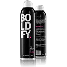 BOLDIFY Dry Texture Spray - Get Incredible Volume, Texturizing and Fullness with a Flexible All Day Hold - Stylist Recommended Hair Thickening - Sulfate, Paraben & Cruelty Free with UV Protectant -7oz