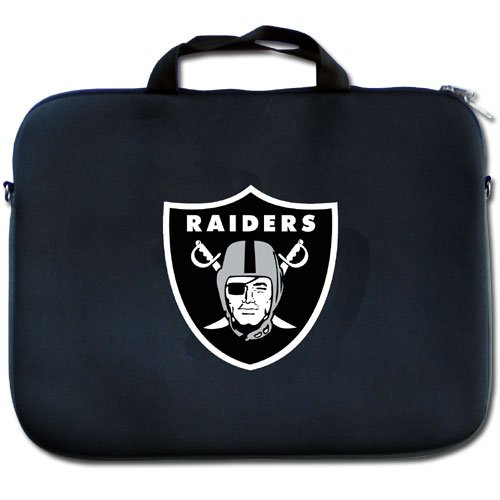 NFL Oakland Raiders Neoprene Laptop Bag by Siskiyou Gifts Co, Inc.