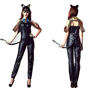 Ropa Interior De Charol Atractiva De Las Mujeres Mirada Mojada Catsuit Halloween Cosplay Catwoman Clothing,