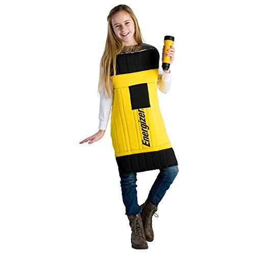 [Kids Energizer Flashlight Costume - Size Toddler 4] (Energizer Bunny Costumes)