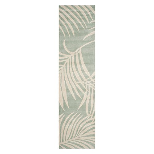 Safavieh Total Perform Collection TLP746D Hand-Hooked Seafoam Area Rug (3' x 5')