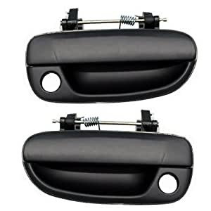 Fits pair of 00 06 hyundai accent front outside outer exterior door handles automotive Hyundai accent exterior door handle