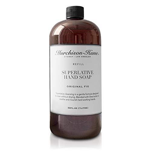 Murchison-Hume Superlative Natural Liquid Hand Soap Refill - Non-Toxic Original Fig 32 Oz