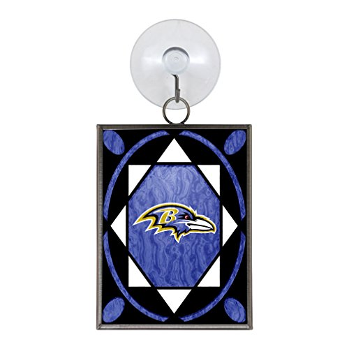 NFL Baltimore Ravens Stained Glass