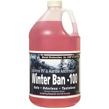 Amazon.com: Camco Winter Ban-100 Rv & Marine Anti-Freeze