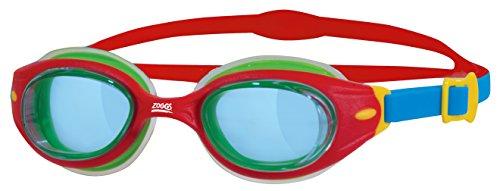 Zoggs Lunettes de piscine pour enfants Little Sonic Air Rouge/Bleu/Tint