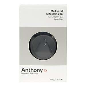 Anthony Logistics For Men Exfoliating Mud Scrub Bar