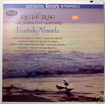 Laurindo Almeida: Reverie for Spanish Guitars by Capitol Records