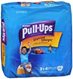 Huggies Pull-Ups Learning Designs Boys' Training Pants Size 3T-4T - 22 ct cs of 4, Pack of 6
