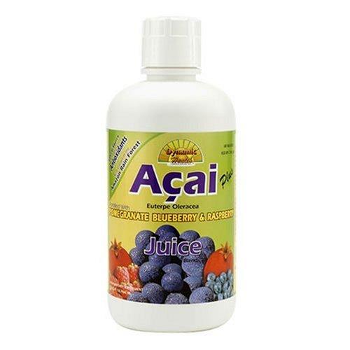 Dynamic Health Acai plus, Antioxydant Superfruit jus Supplément Blend, 32-Onces (Pack de 2)