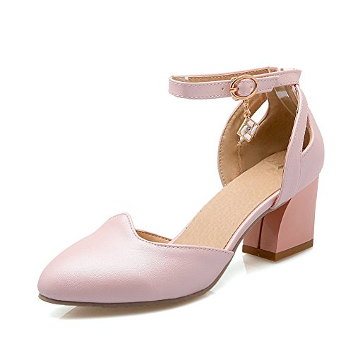 36 5 Compensées AdeeSu Femme Rose Sandales Rose XYnF6ZS