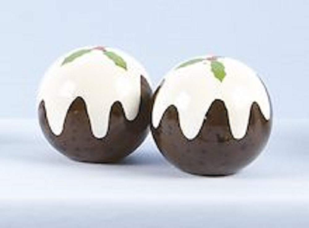 Christmas Pudding Salt & Pepper Shaker Set MO085953