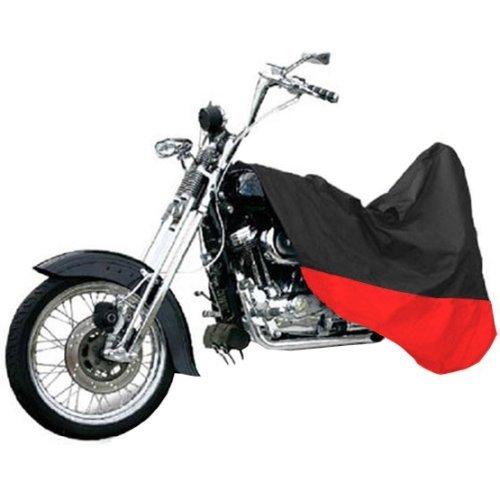 Black/Red Motorcycle Cover For Honda CRF250R Dirt Bike L