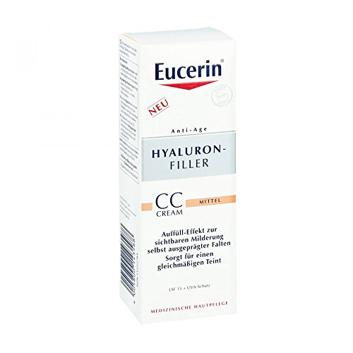 EUCERIN Anti-Age HYALURON-FILLER CC Cream mittel 50 ml Creme