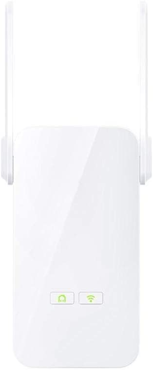 ADPTT WiFi Router 1000Mbps Powerlines Ethernet Adapter PLC Network Adapter Wireless WiFi Extender Router Color : White, Size : 120x63x42mm