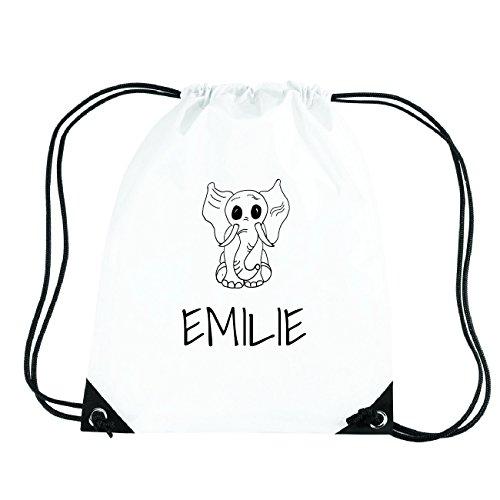 JOllipets EMILIE Turnbeutel Sport Tasche PGYM5314 Design: Elefant
