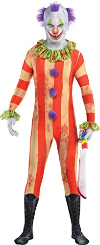Clown Partysuit Costume - Teen (Halloween 2017 Costume Ideas For Kids)