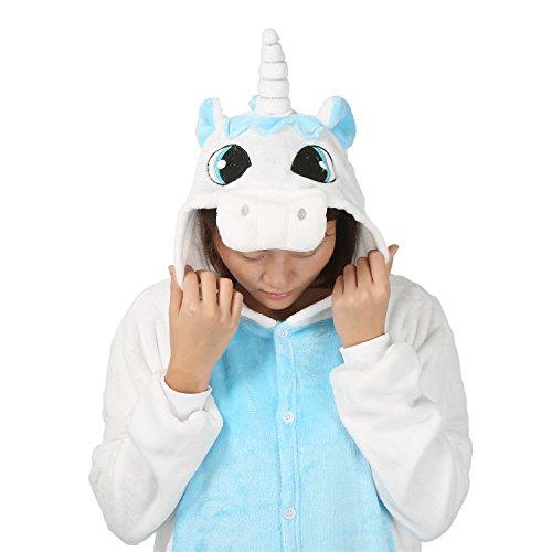 Licorne Très Ensemble Chic Ou Bleu Combinaison Aminal Costume Déguisement Grenouillère Unisexe Pyjama Mailanda Cosplay 77qfrZw