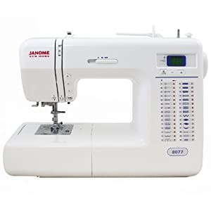 Janome 8077 computerized sewing machine with - Machine a coudre janome 8077 ...