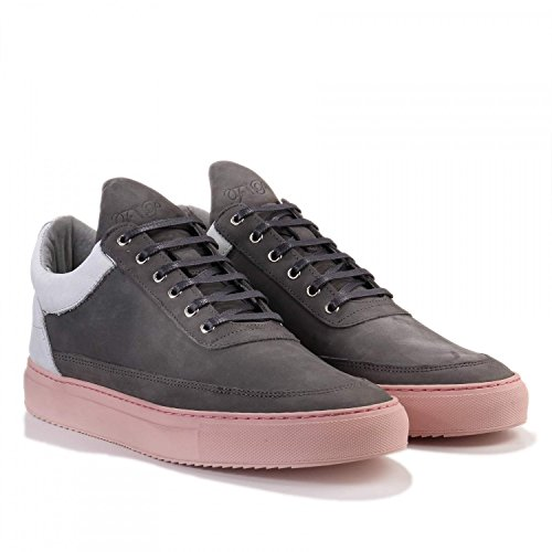 Filling Pieces Low Top Stainless Nude Grey 1010134-Grey (SIZE  44) f7e69b1e5e6