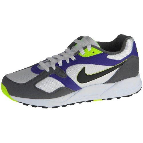 Nike - AIR BASE II - Coleur: Blanco-Gris - Taille: 44.5
