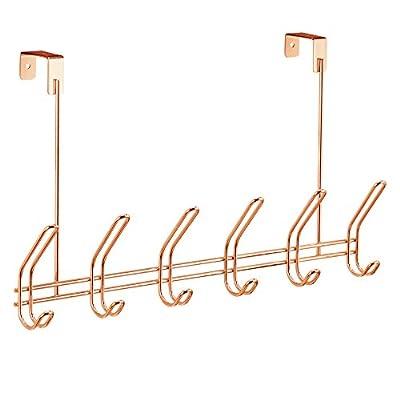 InterDesign Classico Over Door Organizer Hooks -  - entryway-furniture-decor, entryway-laundry-room, coat-racks - 417PjVOS9hL. SS400  -