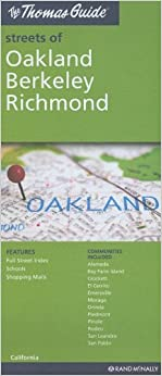 The Thomas Guide Streets Of OaklandBerkeleyRichmond California - Us paper map thomas guide